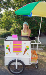 ice cream vendor girl 2