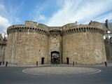 Saint Malo les fortifications poster
