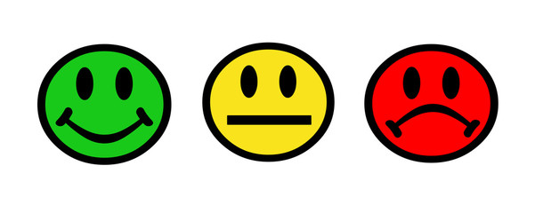 smiley face rating system