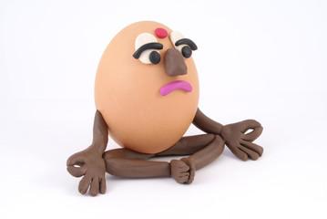 Yogi is an egg.