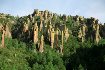 classical nature of USA - Chiricahua national monument, Arizona