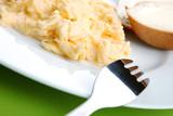 Healthy Breakfast, scrambled egg poster