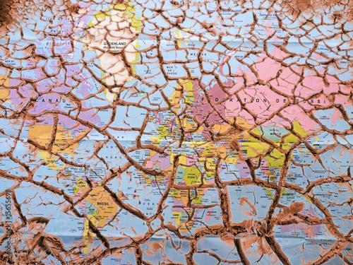Foto op Plexiglas Droogte crise mondiale
