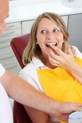 besuch beim zahnarzt