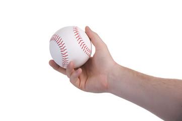 pitching baseball