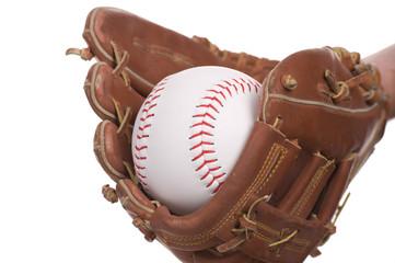 catching baseball