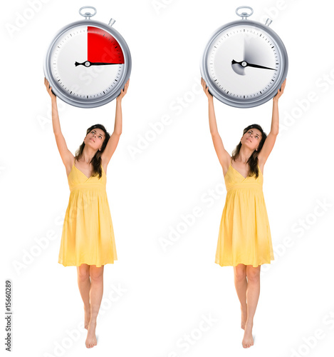 girls with timers