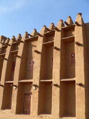 mosquée de terre au mali