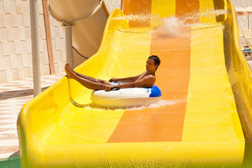 fun in aquapark