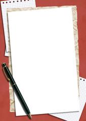 frame for letter