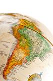 Globe - South America poster