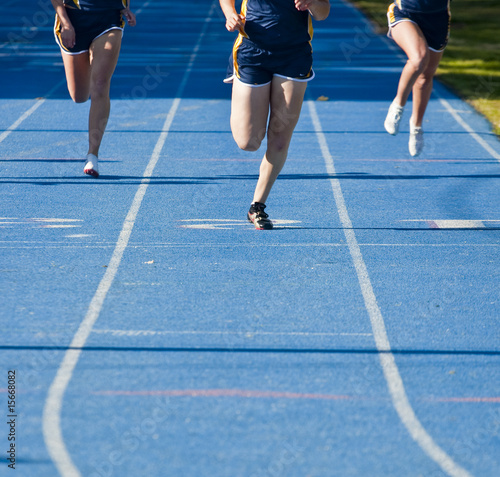 Running to Finish Line