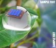 Maison photovoltaique dans une goutte d'eau
