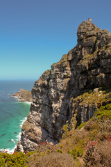 Sudafrica - Panorama Atlantico - Faro Cape Point