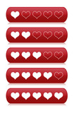 Review Heart Bars for Rating poster