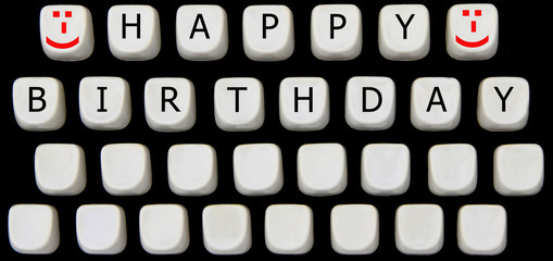 Hapy Birthday Tastatur