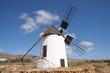 Traditional Windmill in La Corte, Canary Island Fuerteventura