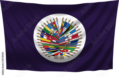 OAS Flag - Organization of American States