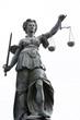 Leinwanddruck Bild - Justitia