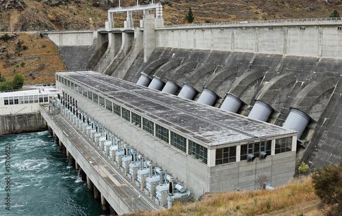 Wasserkraftwerk in Neuseeland - 15706823