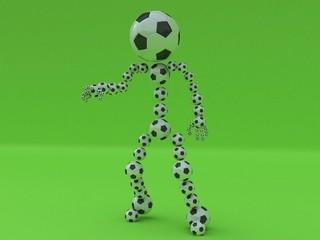 balls man
