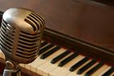 Fototapety Vintage Microphone