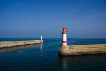 Le port (île de Groix, Bretagne)