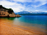 perfect beach on the Adriatic sea poster