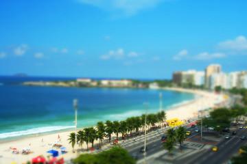 Copacabana beach Brazil Shift Tilt