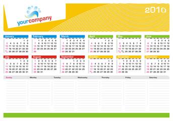 Calendário de Mesa - Secretary Planning