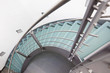 Leinwanddruck Bild - moderne glastreppe