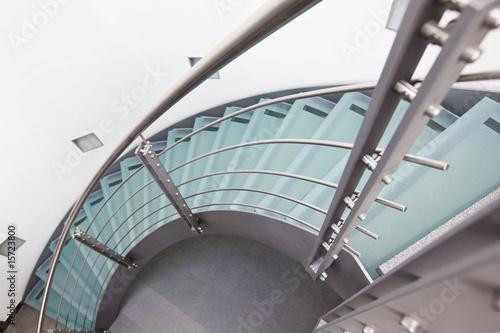 moderne glastreppe - 15723800