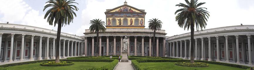 Rome - san paolo fouri le mura