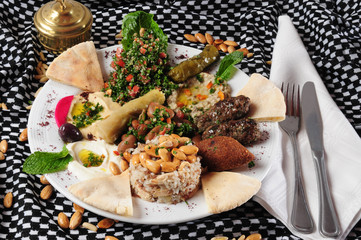 Middle eastern cuisine.