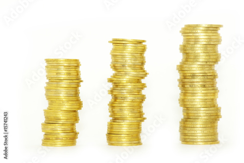 stock of coins