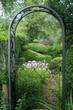 romantischer Garten im englischen Stil