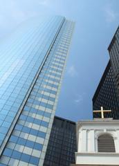 Chiesa tra i grattacieli