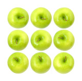 Granny Smith apples poster