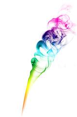 forma di fumo arcobaleno