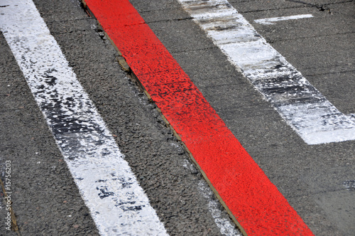 Formel 1 - Startplatz 1 - pole position (Start und Ziel)