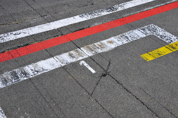 Formel 1 - Motorsport - pole position (Startplatz 1)