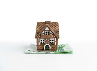 Small house on euros