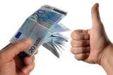 transaction financière positive poster