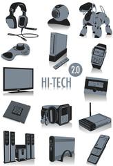 Hi-tech silhouettes 2.0