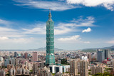 Fototapety Taipei 101, the tallest building of the world