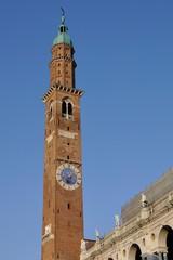 vicenza torre bissara piazza signori orologio lunario palladio