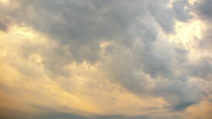 Evil sky time lapse