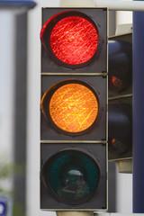 Verkehrsampel, Deutschland.|Traffic Light, Germany.|