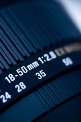 Close up of lens
