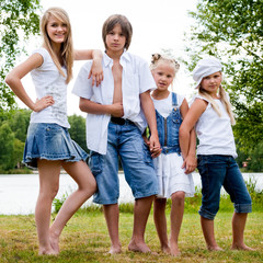 The jeans family